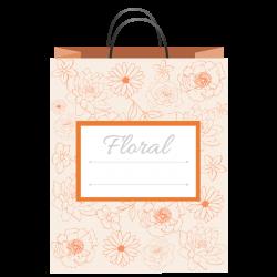 Flower Gift Bag